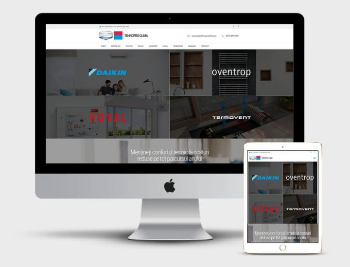 Creare site aparate de aer conditionat